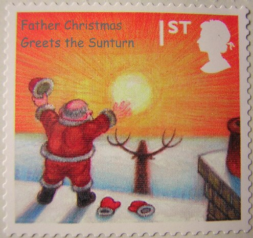 Father Christmas greets the Sunturn